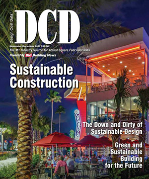Design Cost Data  Nov/Dec 2017    The Down & Dirty of Sustainable Design