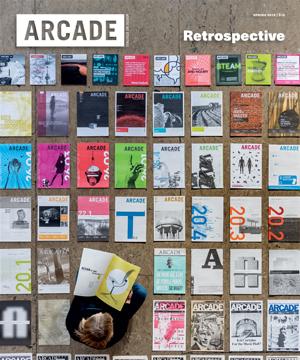 ARCADE Magazine      36.1     Spring 2018   Cecil Balmond Interview