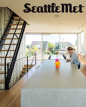 Seattle Met Magazine  October 2017    Case Study House 2014