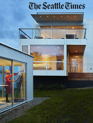 Pacific NW Magazine    January 2016    Case Study House 2014