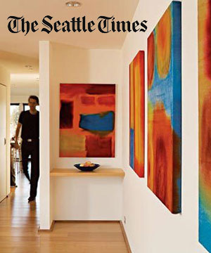 """Pacific Northwest Magazine    March 2008  """"Architects at Home"""" features Kevin Eckert"""