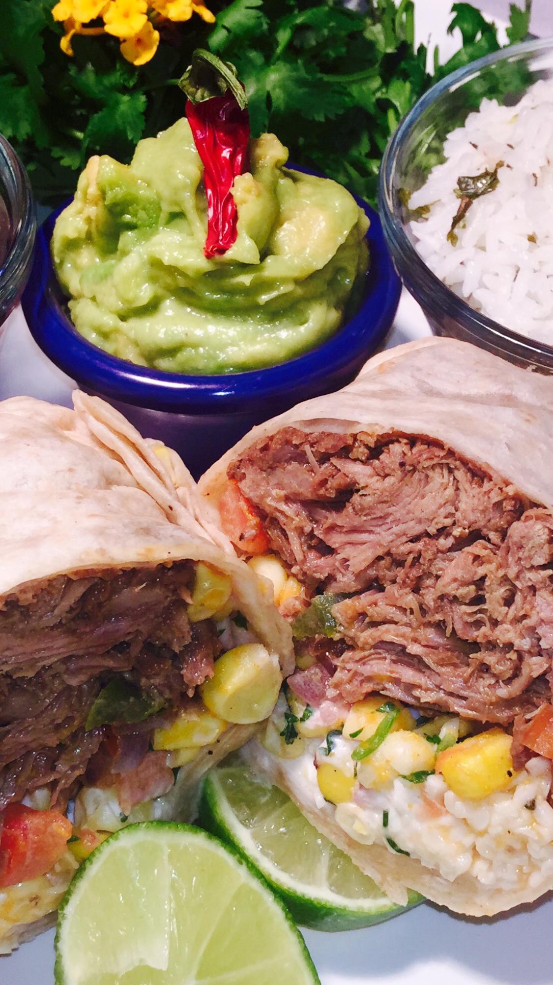 BEEF BURRO (Burrito) - YUM!
