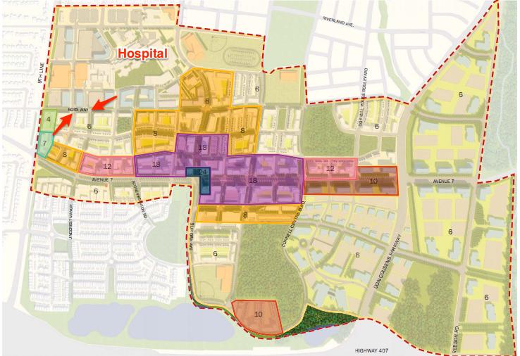 The new Cornell Centre Regional Transit Terminal (RTT) Location