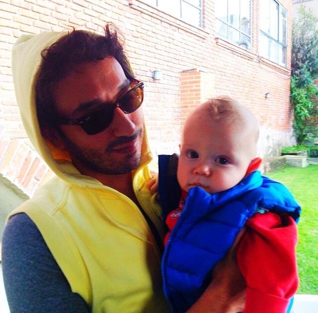 León & Uncle Dave.