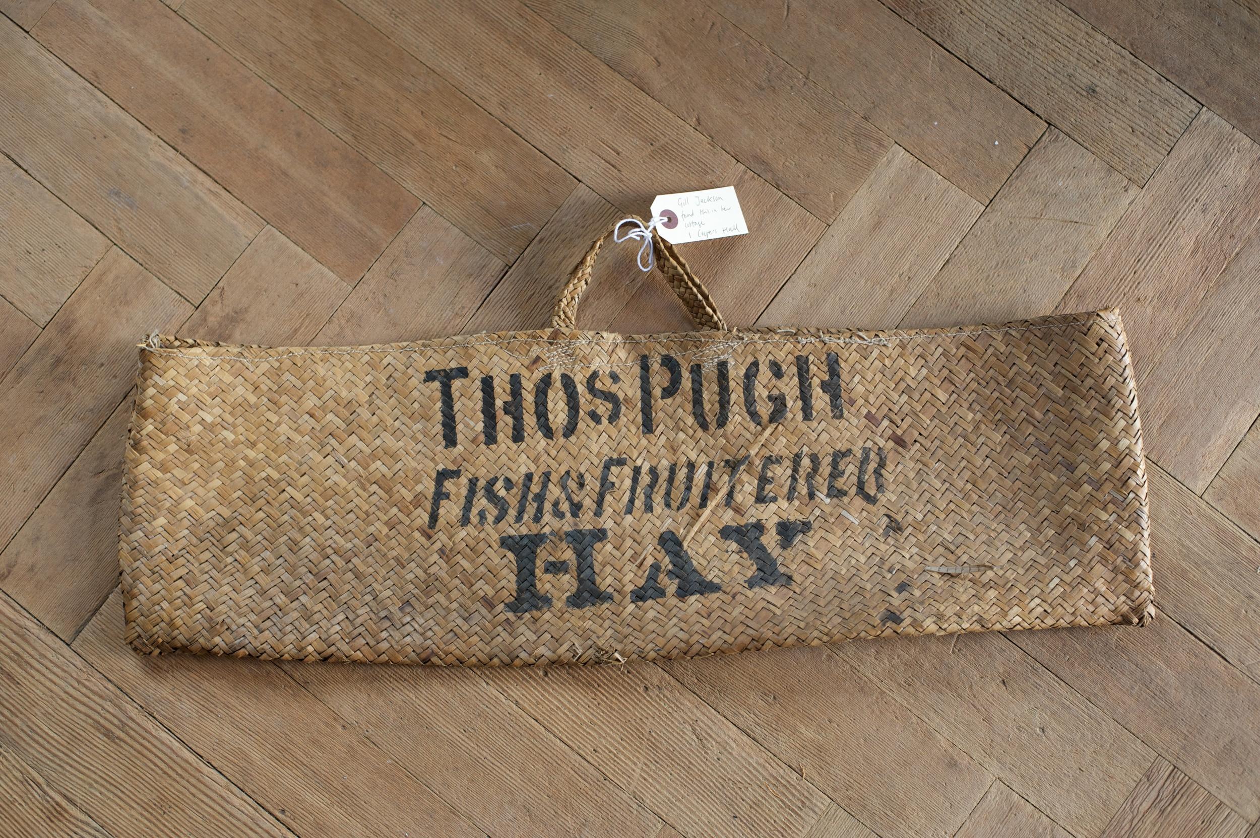 Wicker bag from Pugh's