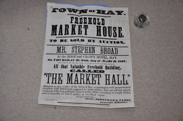 Sale of the Buttermarket from 1867