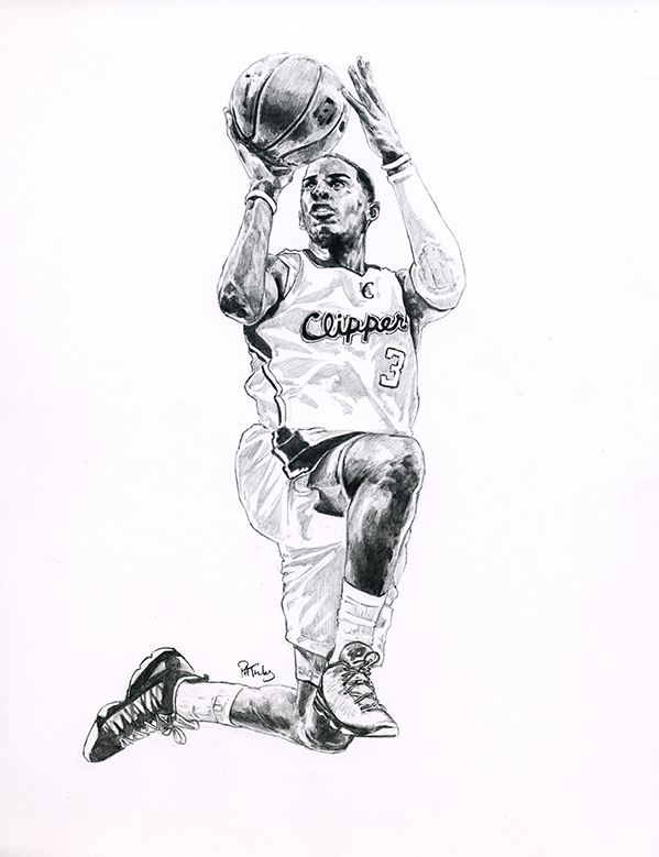Chris Paul of the Los Angeles Clippers | buy prints here