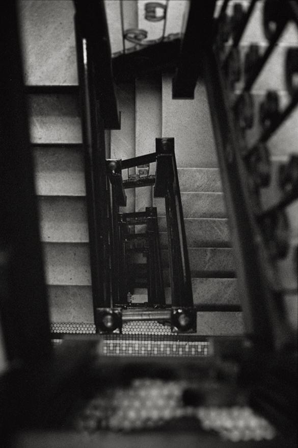 Stairwell, looking down
