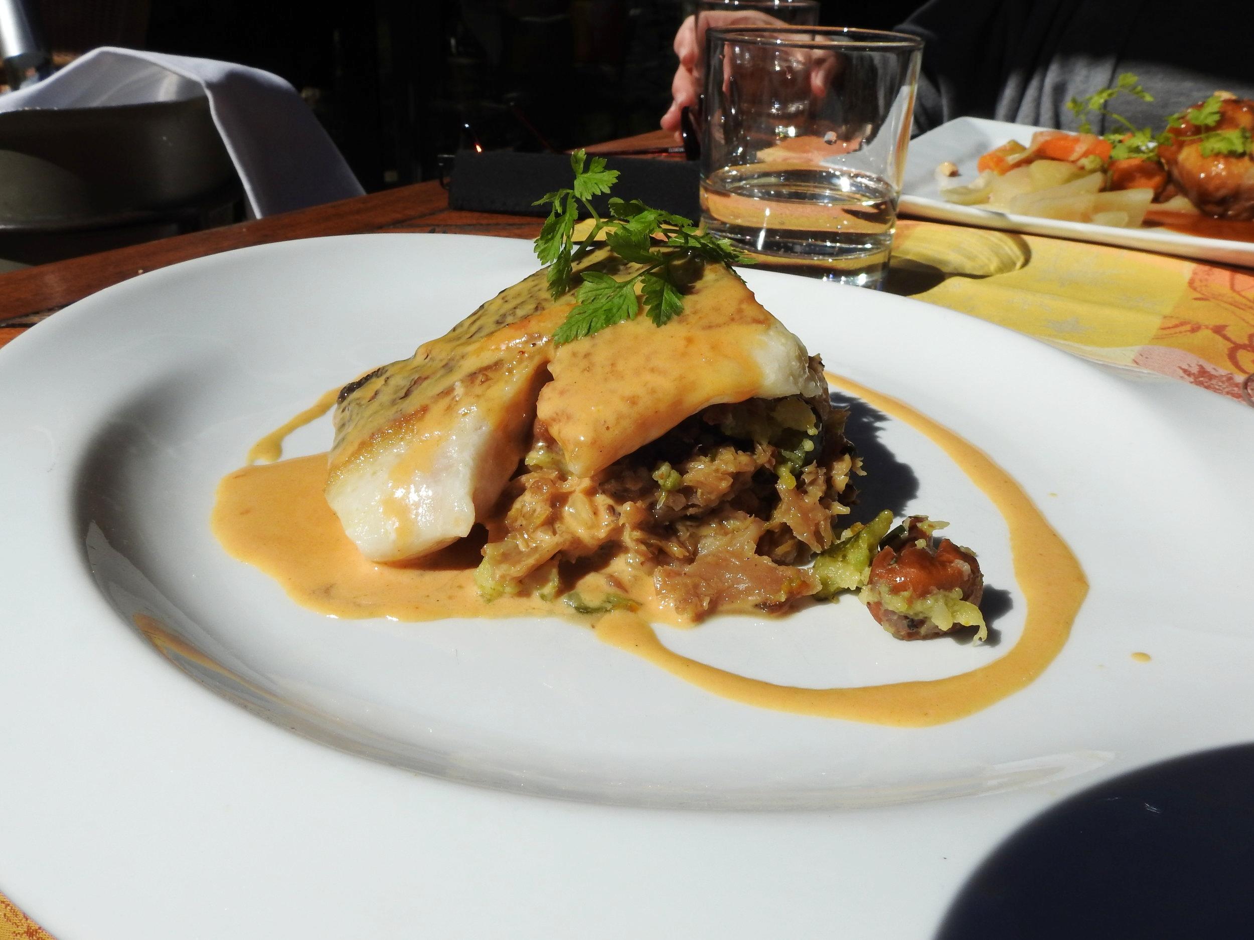 Enjoy a three-course gourmet lunch at L'estellan