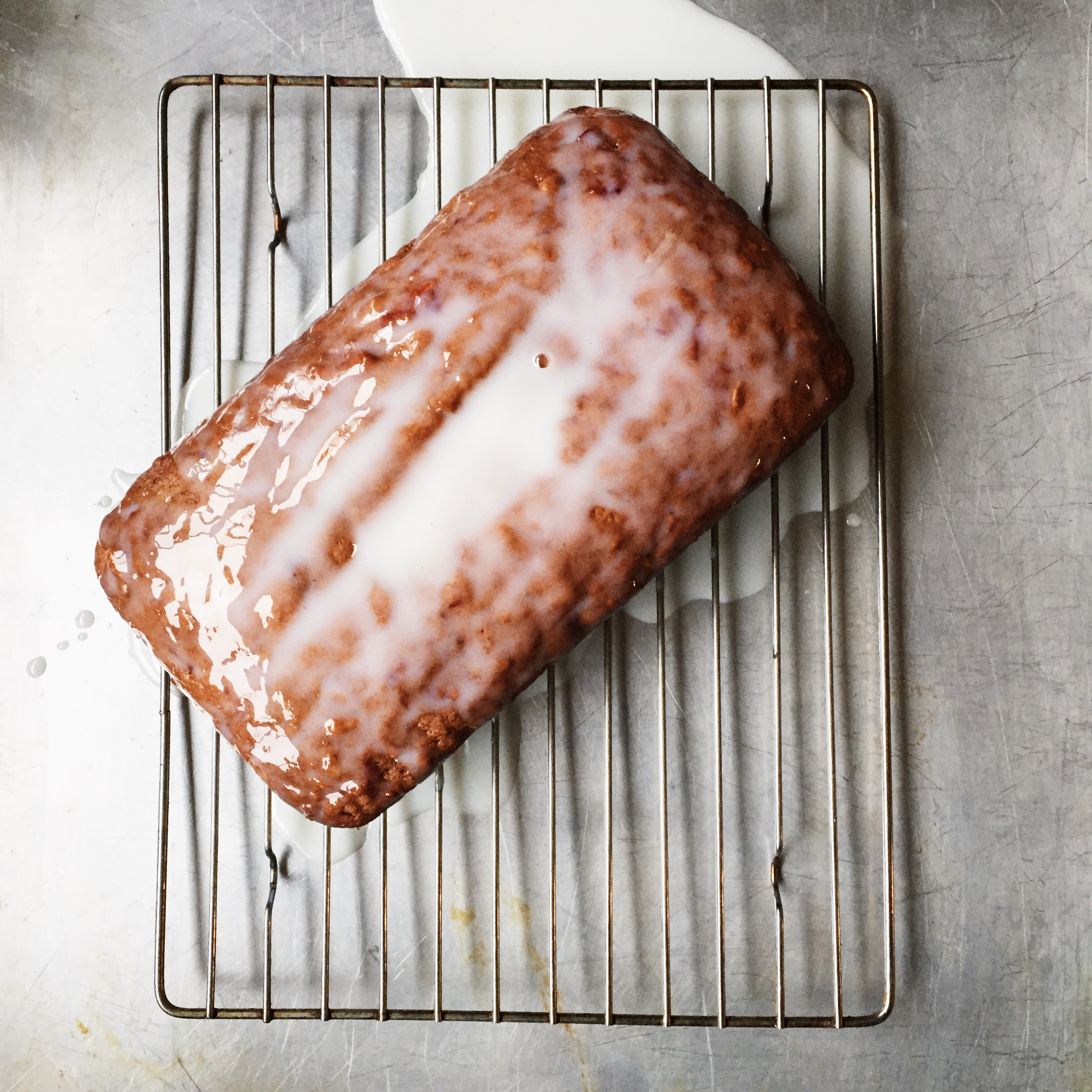 Beet and Carrot Cake with Buttermilk Glaze