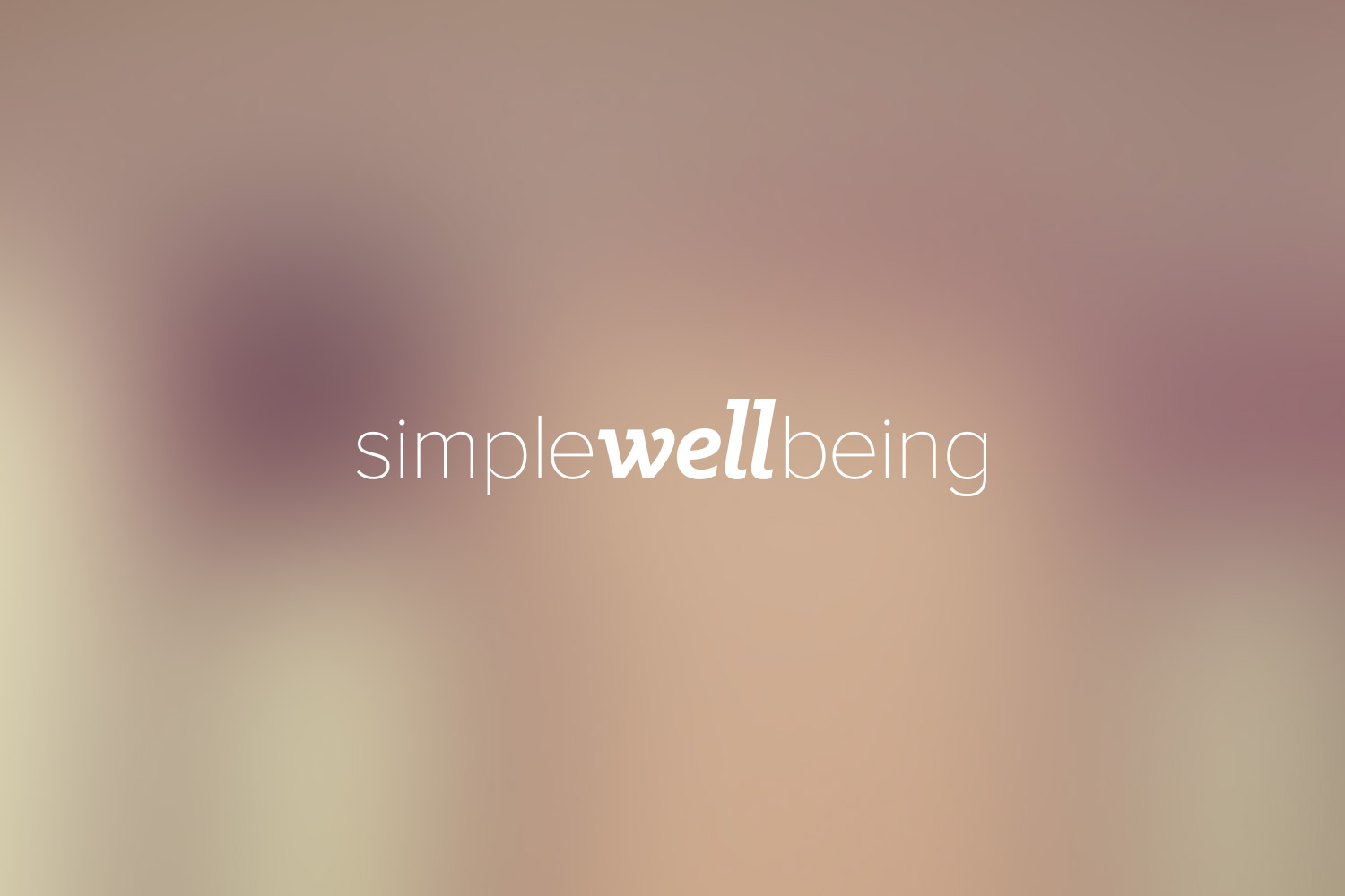 Simple Well Being Identity