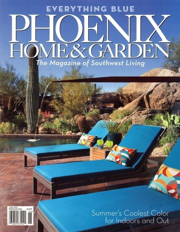 Phoenix Home & Garden: Everything Blue
