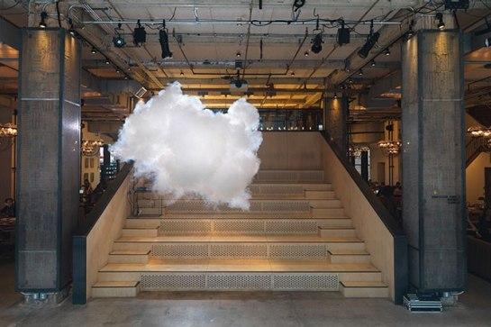 An indoor cloud!