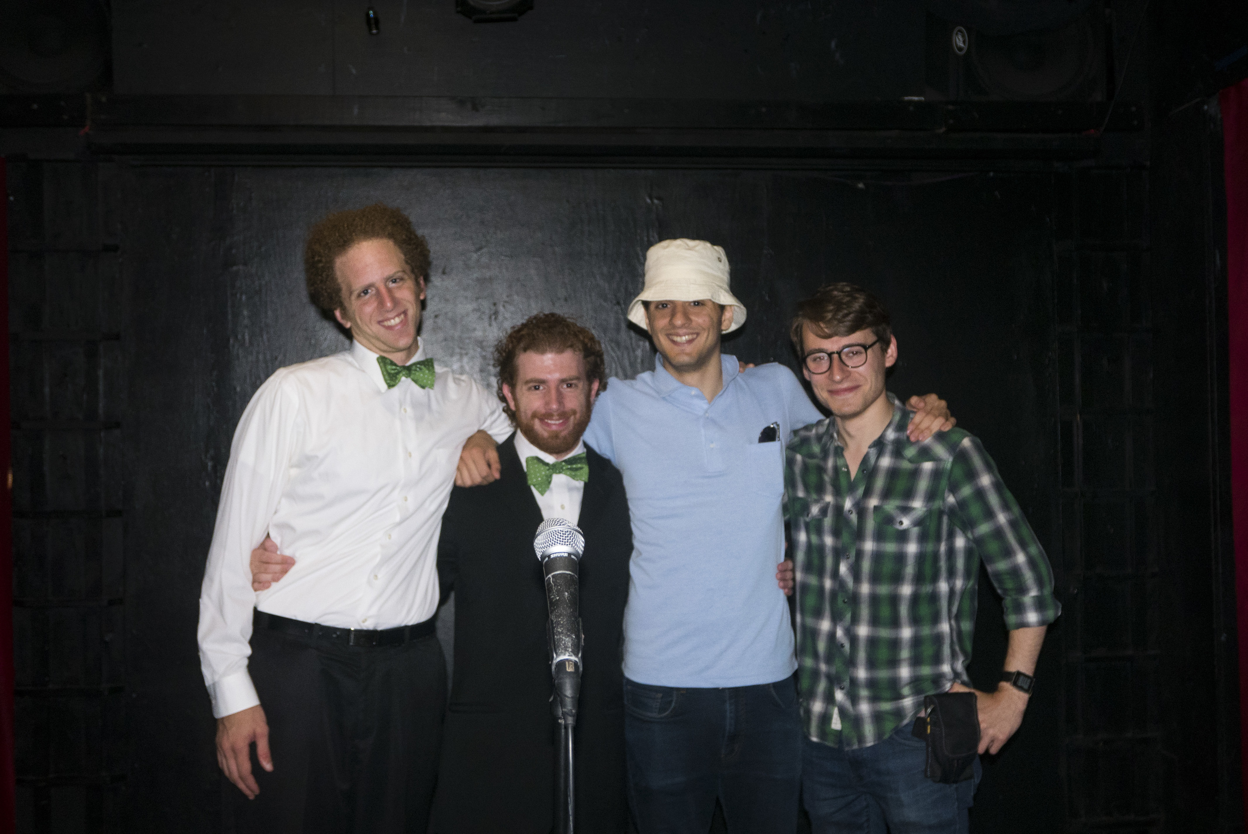The Producers with The Broccoli Boys at Under St. Marks Theatre in The Village.