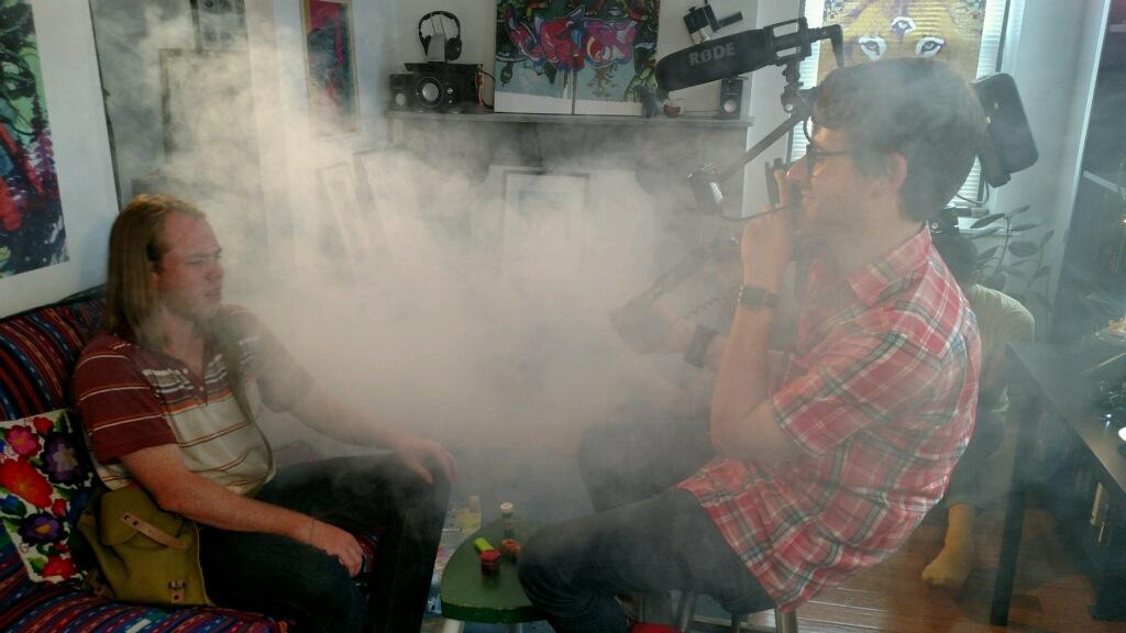 Smoky set.