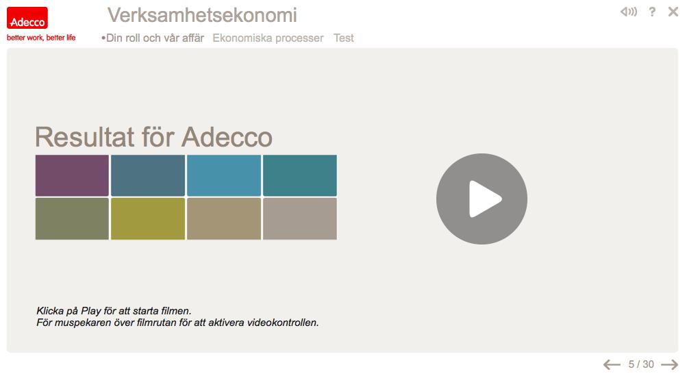 Adecco – ekonomiutbildning