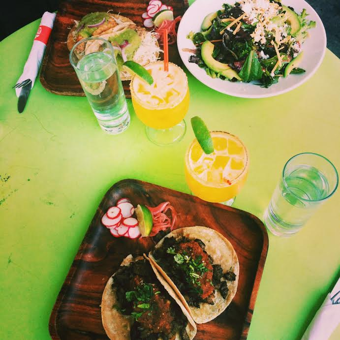 Lunch at La Esquina w/HyperFrank.