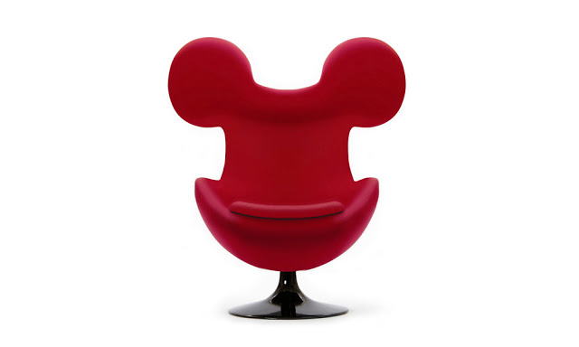 The Mickey Egg Chair by Mickey Mivu