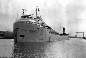 The SS Cedarville before she sank.