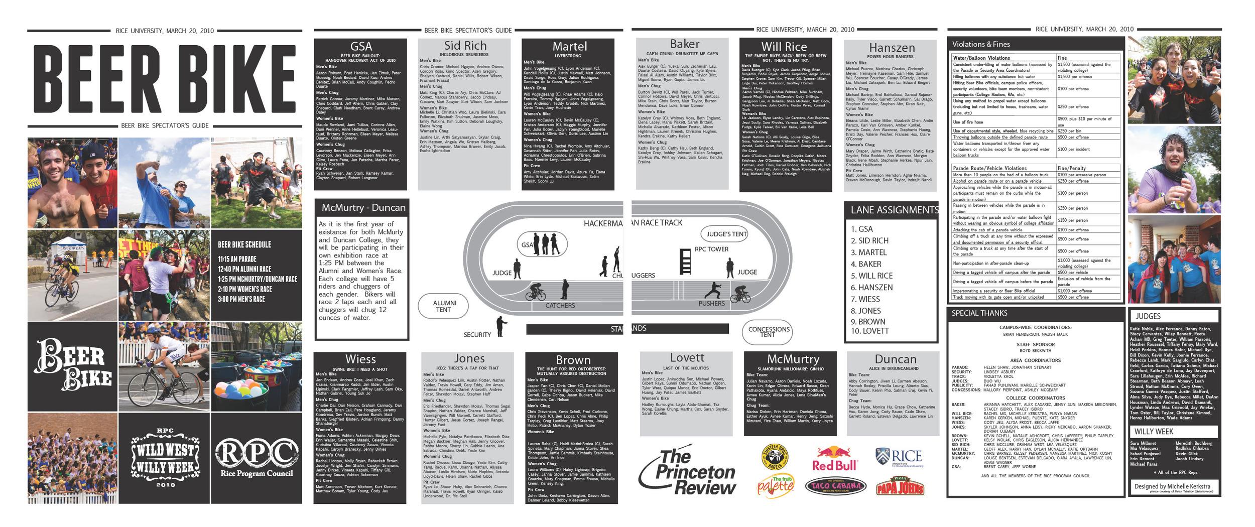 Newspaper Print Design (Rice University)