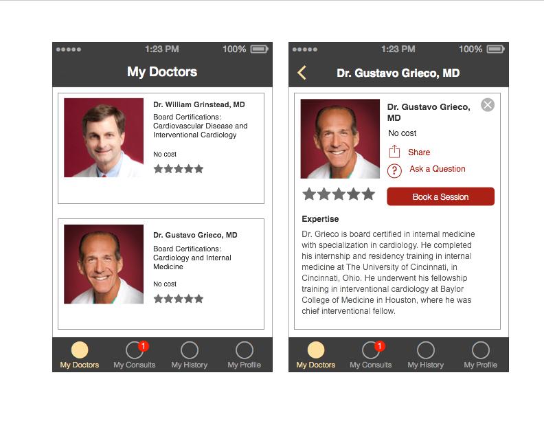 Whitelabel iPhone App Concept