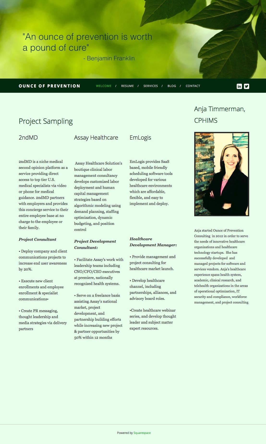 Contract Website Creation