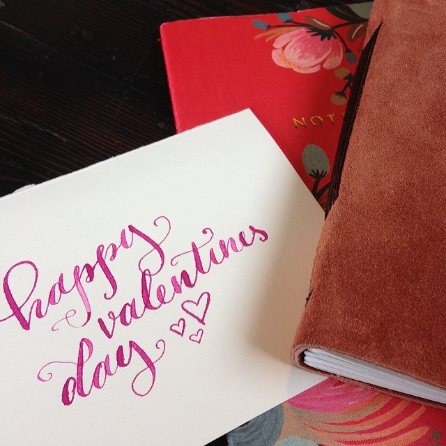 calligraphy by  Linalulu Paperie