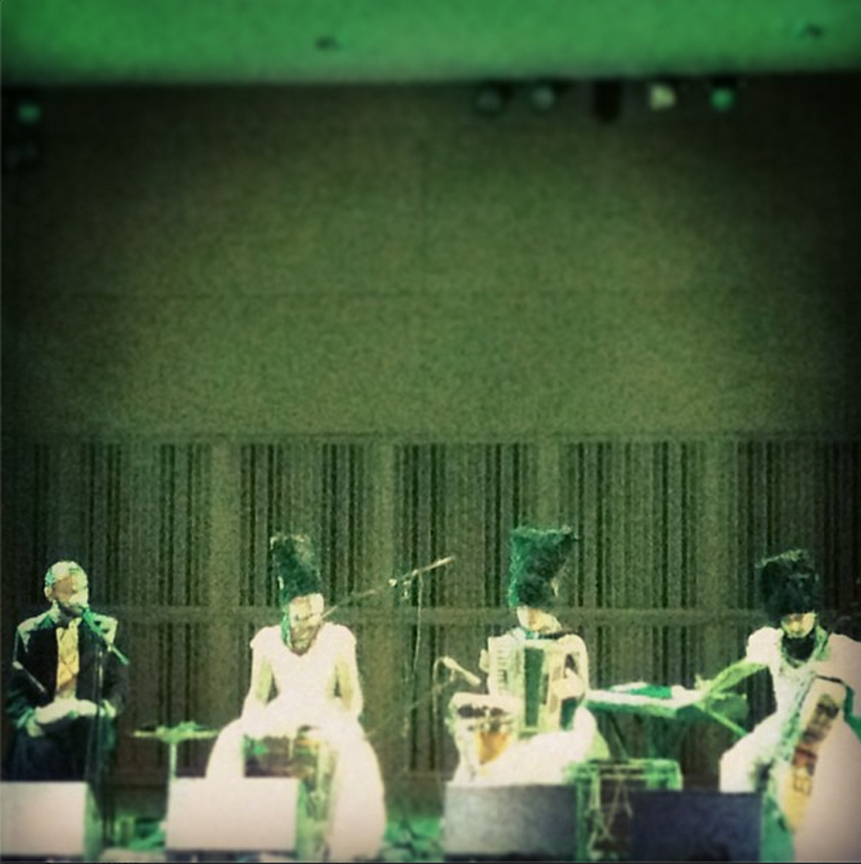 Dakha Brakha at CUNY's Graduate Center in New York, September 19, 2013