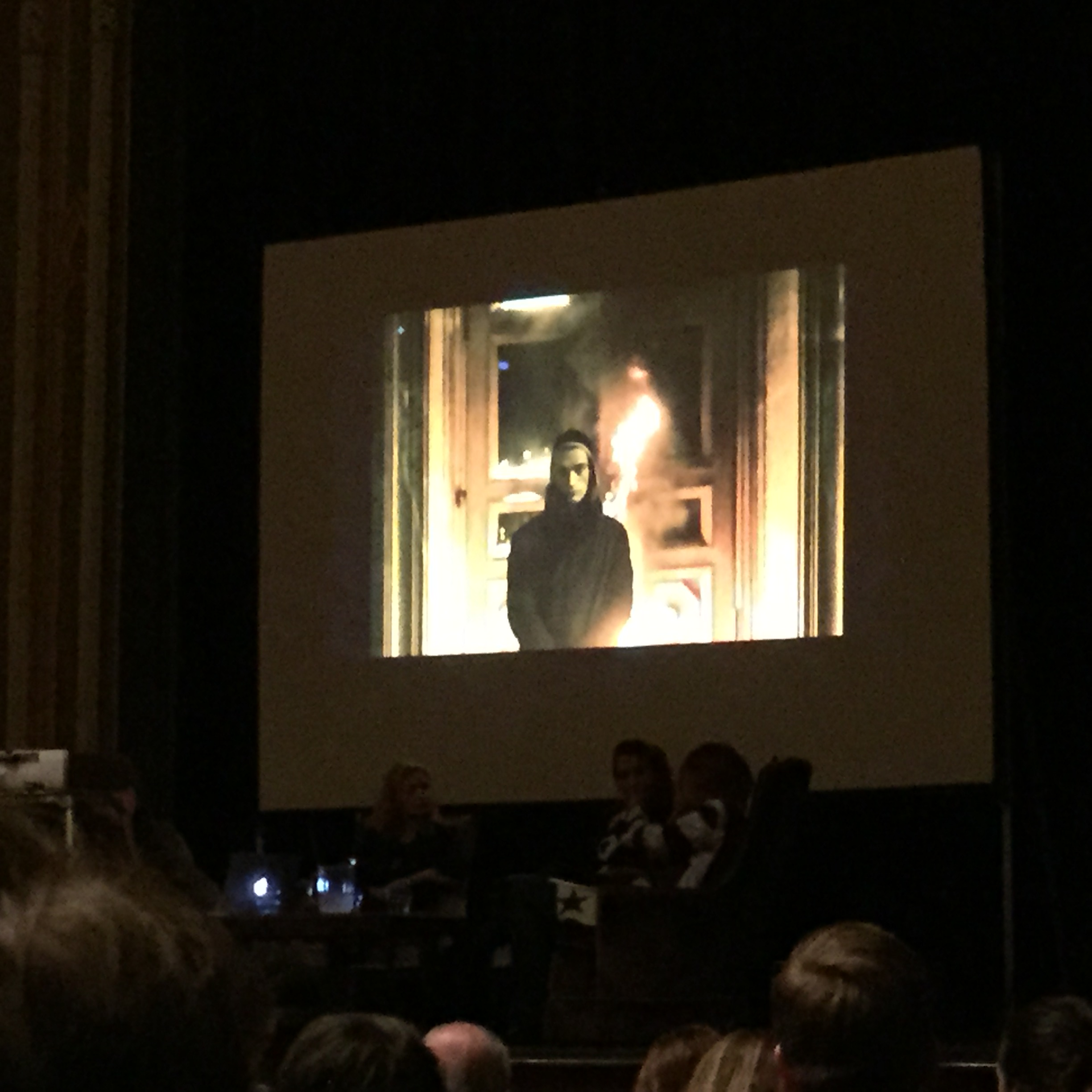 The work of Peter Pavlensky, on screen at Hallwalls presented by Pussy Riot