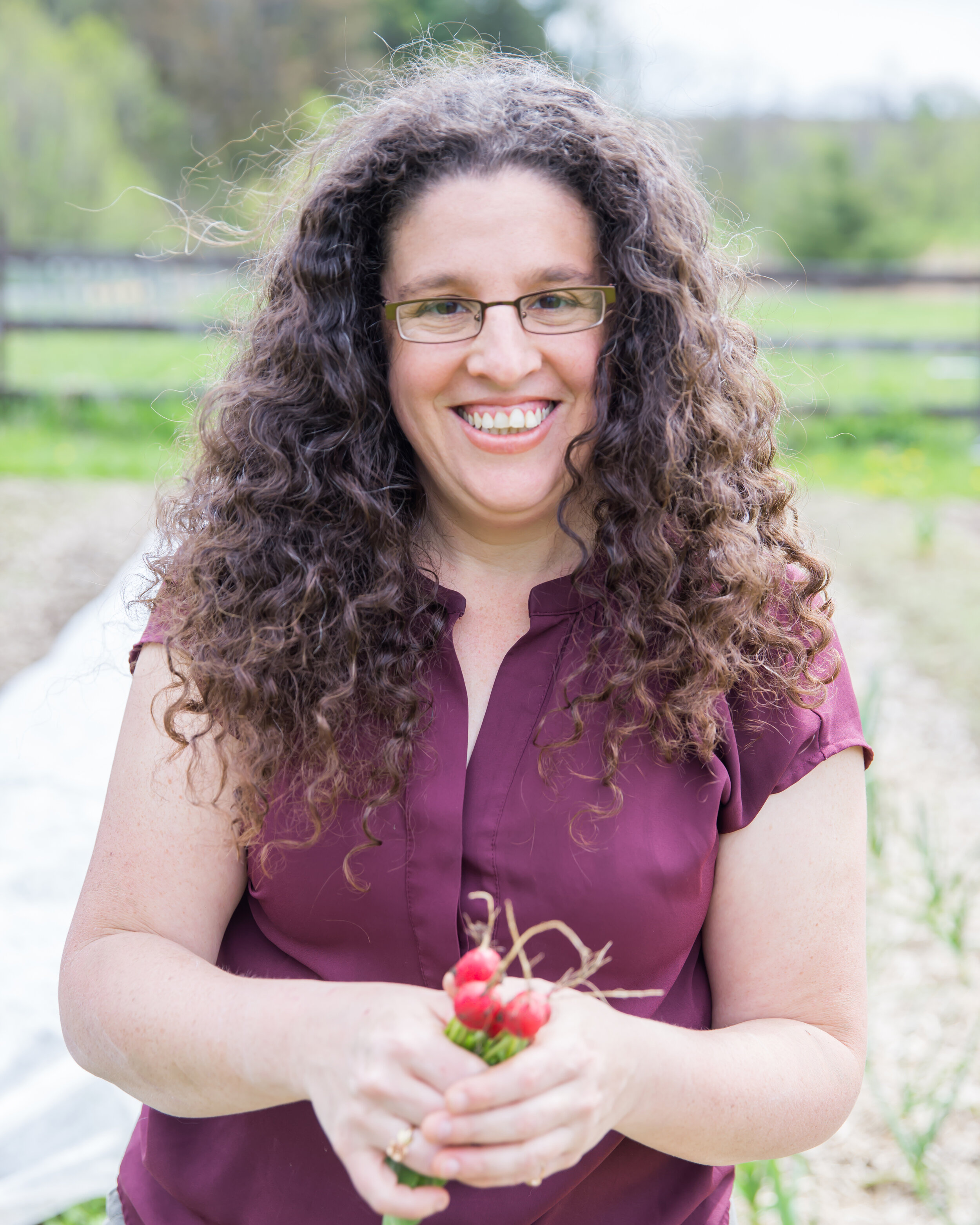 """""""Based on past photo shoots, I had anxiety but you made it feel easy and comfortable, not only fun. The way you worked with the light in the seasons was totally magic. The pictures are so versatile for my two businesses: my farm and my coaching business, and I love that."""" – Missy Singer DuMars of  Crown Hill Farm  and  SpiritBizPeople ."""