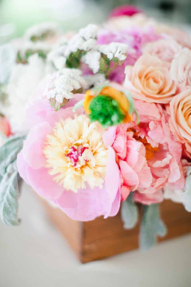 Centerpeice florals by Passion Roots | Oahu, Hawaii