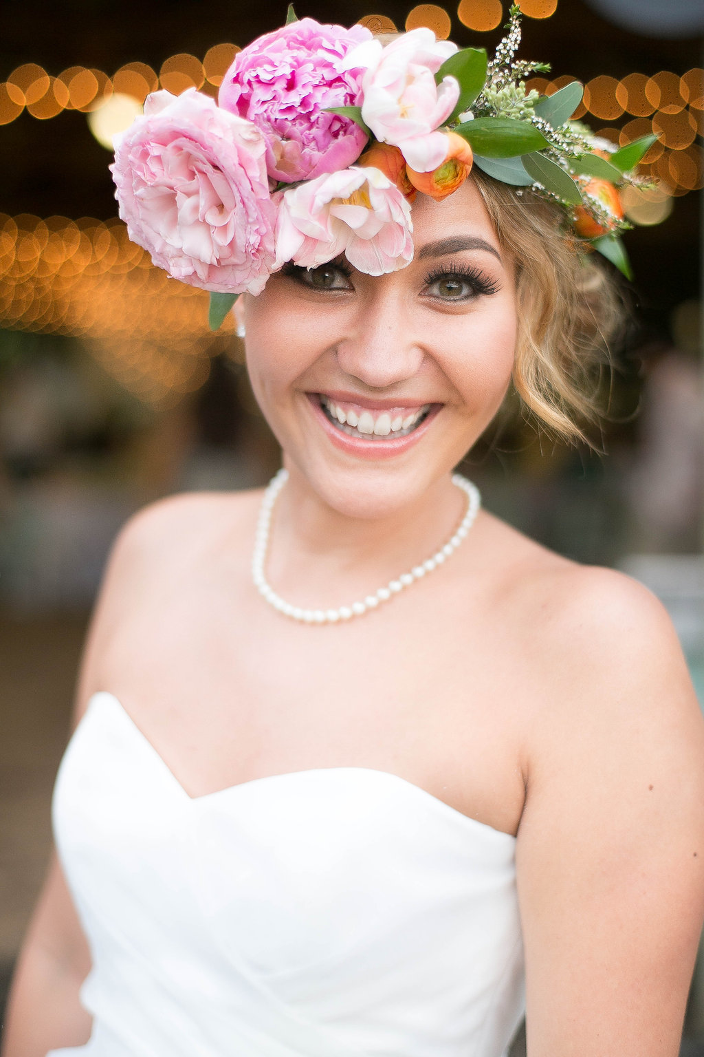 flower crown by Passion Roots | Oahu, Hawaii