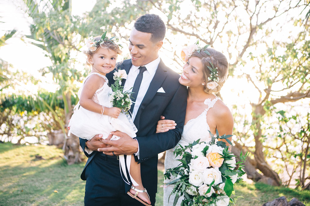 Family Florals by Passion Roots | Sami Jo Photography | Oahu, Hawaii