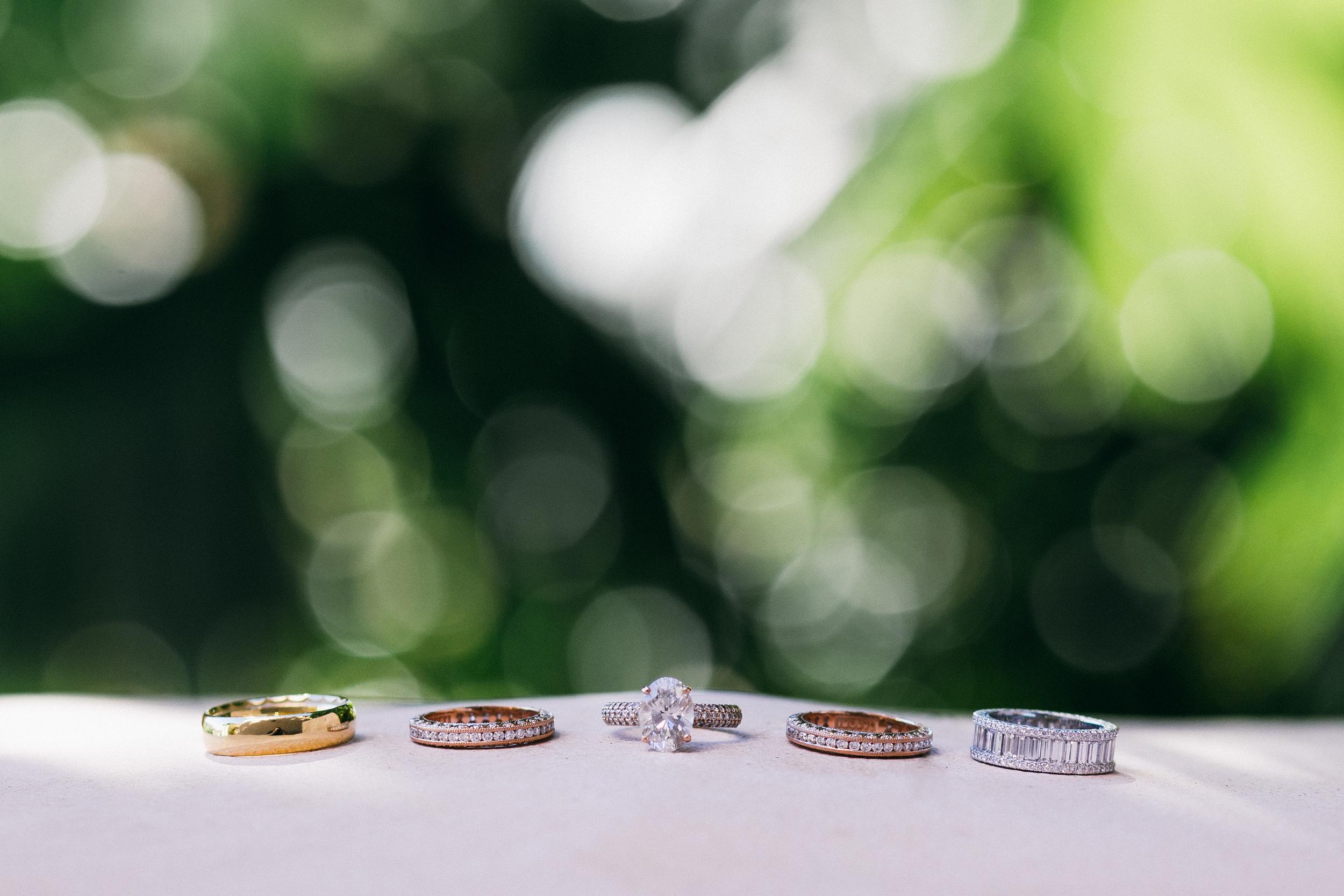 Whitney Port's wedding rings