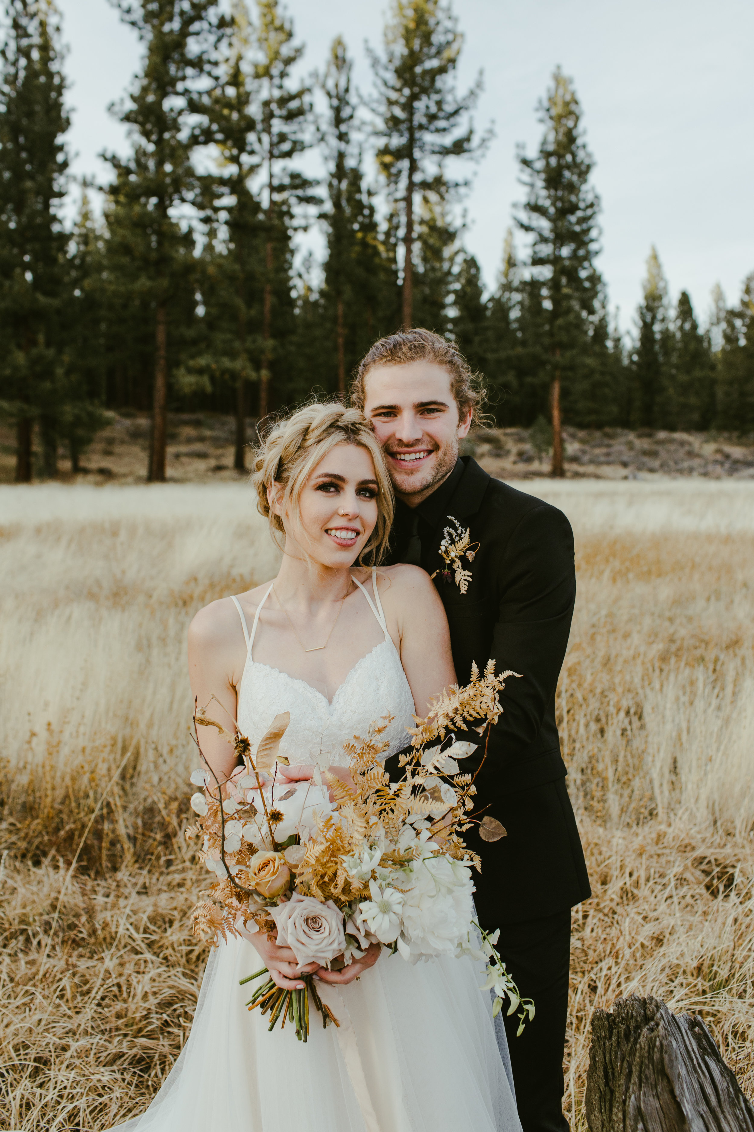 Lake Tahoe Winter Wedding