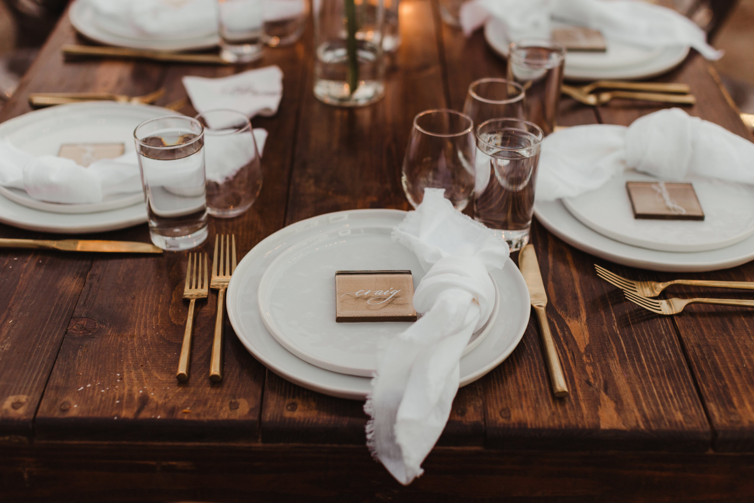 Kinsey & Nobu's O'Donnell House wedding in Palm Springs, California photographed by Hannah Costello