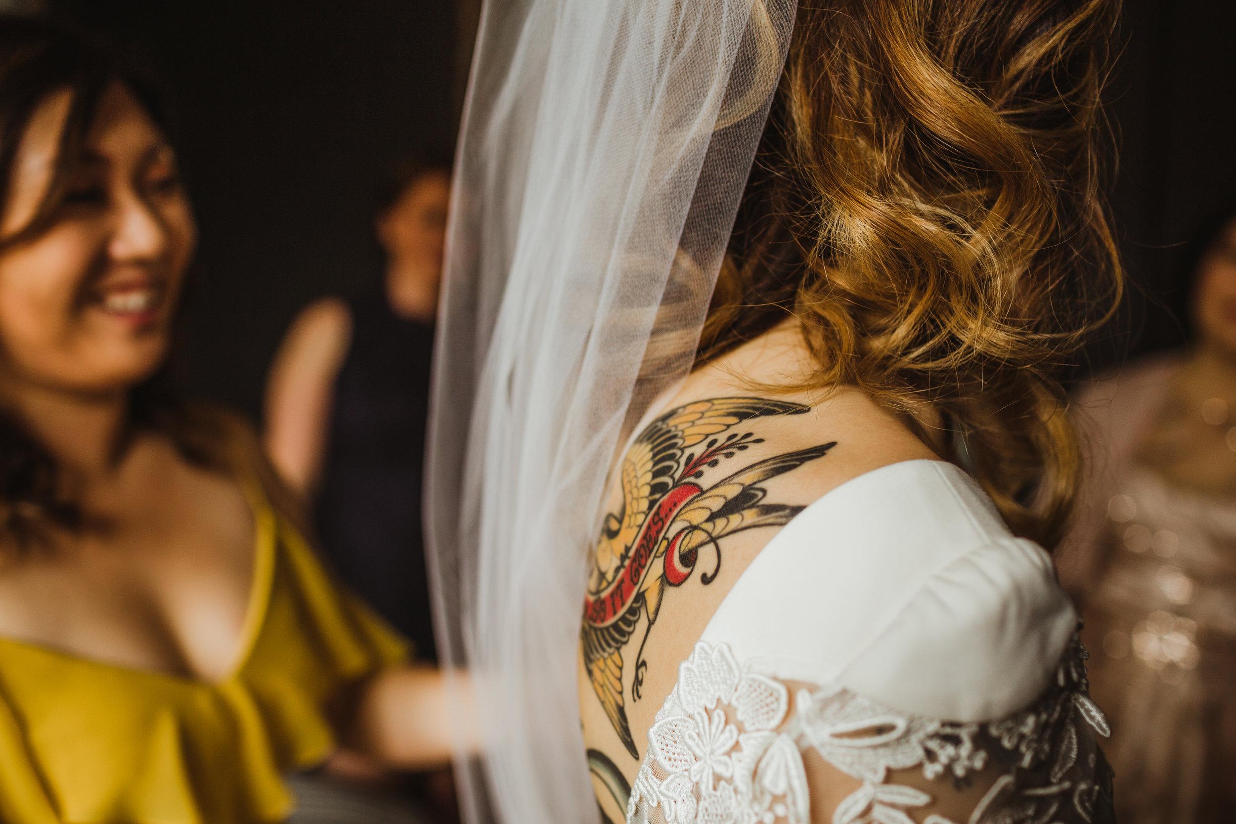 San Francisco Proper Hotel Wedding Photography by Hannah Costello