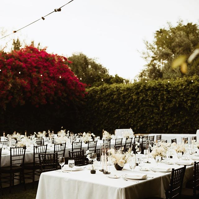 The ambiance and the design was simply lovely.   Planning- @kiersten_lbevents of @lbevents Venue + Catering & Bar & Dessert- @parkerpalmsprings Florist- @oftheflowers