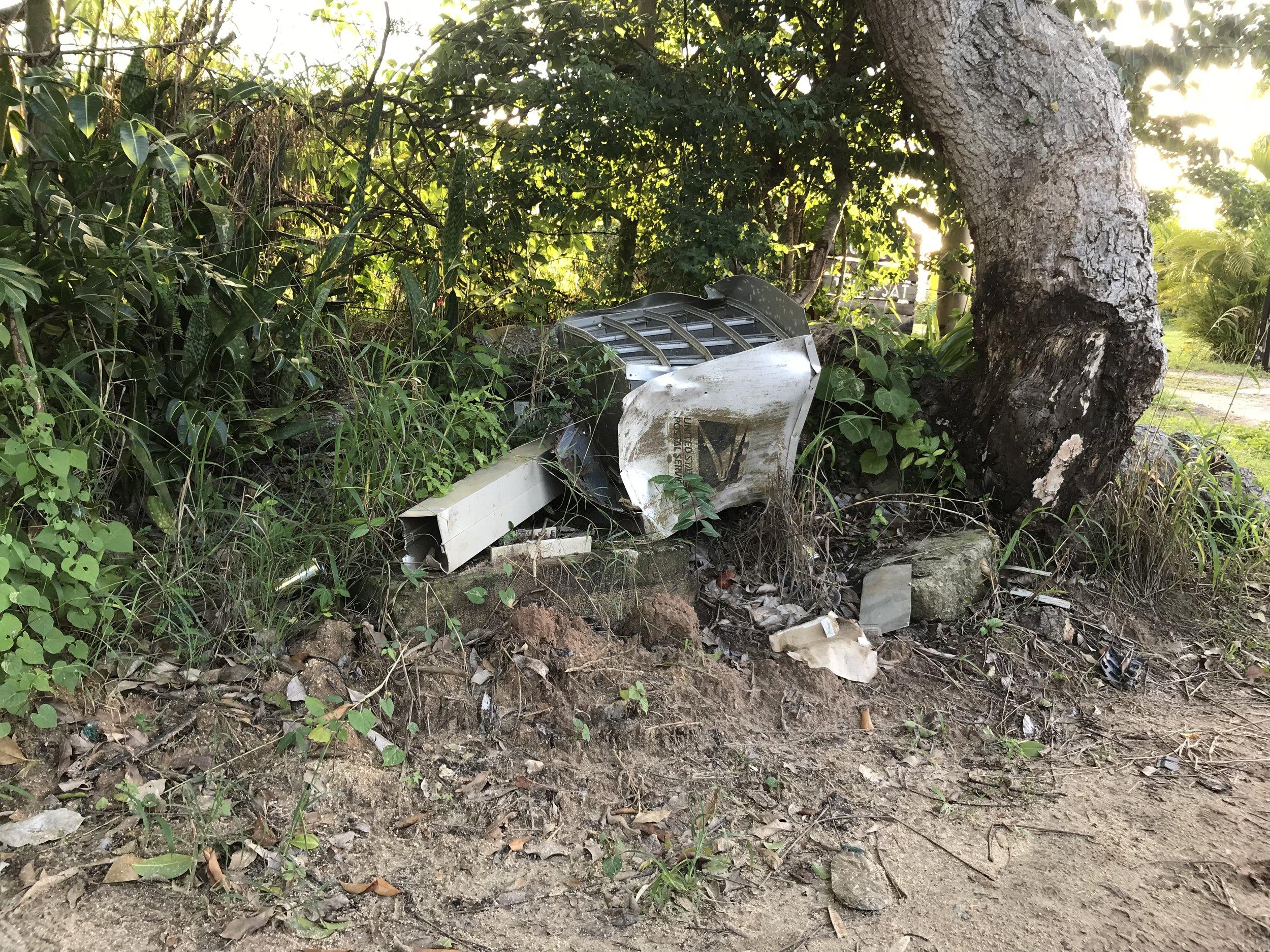 USPS mail box
