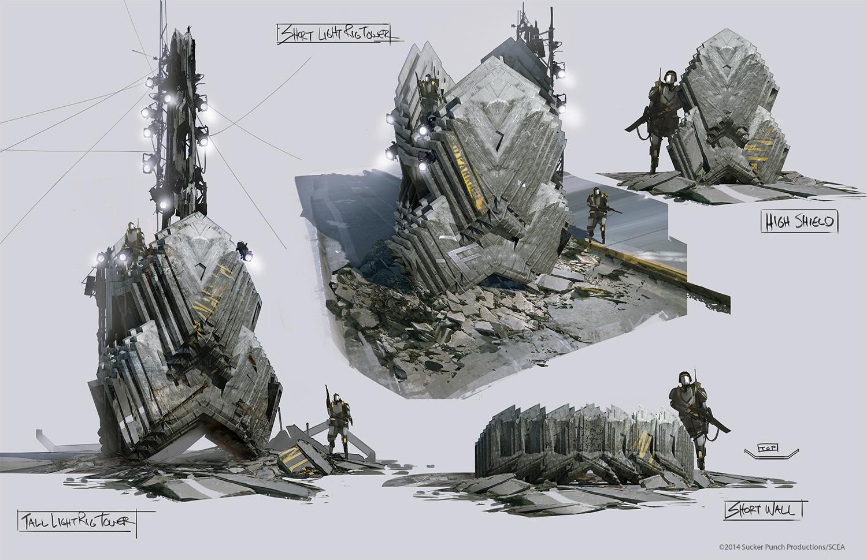 Infamous Power Concept Art