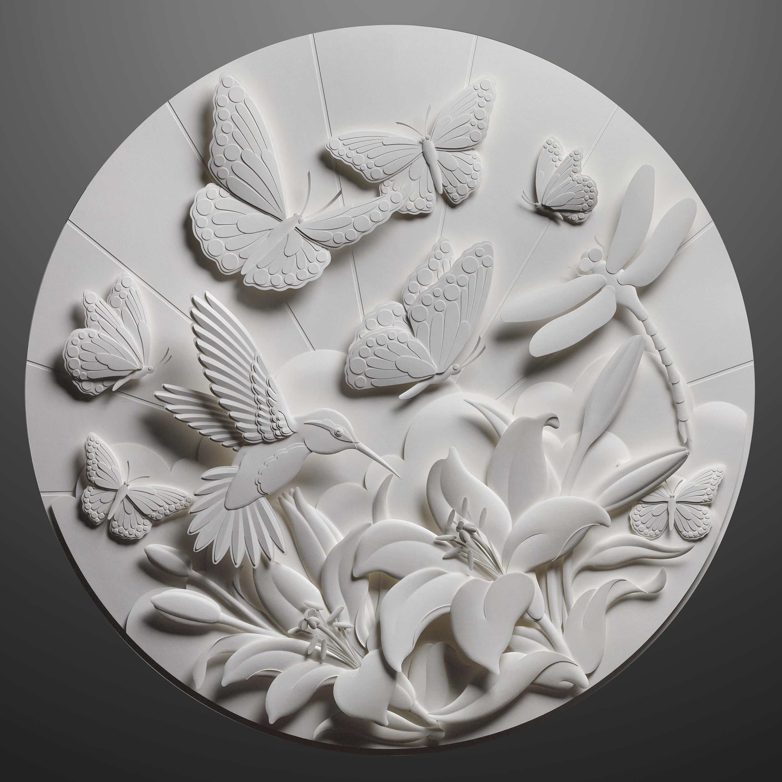 Étonnant Jeff Nishinaka Paper Sculpture WP-27