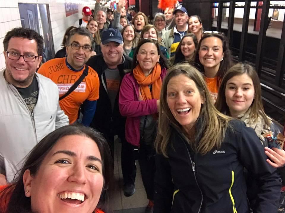 nyc marathon_cheering