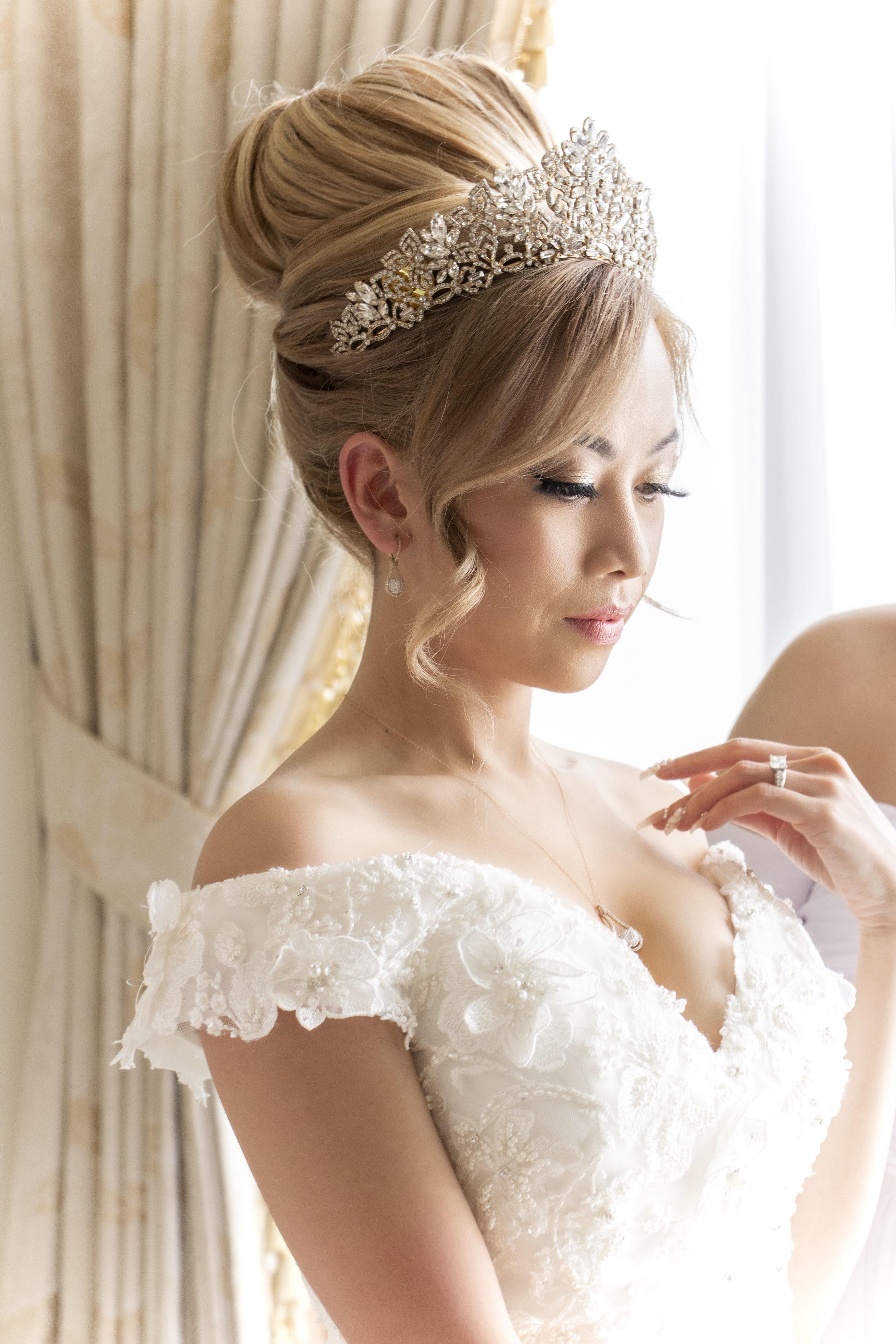 San Diego bridal hair
