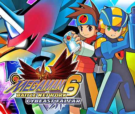 I like how MegaMan has his Buster held up for the bird-type foe...
