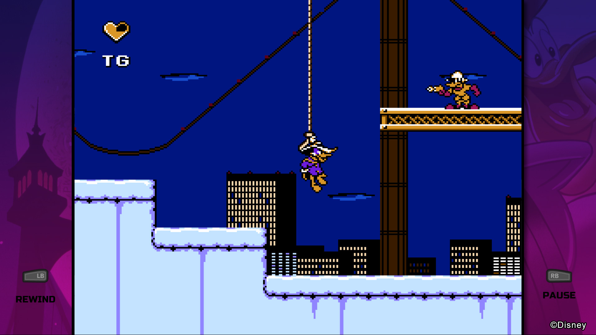 """""""So Darkwing, what have you been up to for the last 25 years?"""" """"Oh, you know, just hanging around..."""""""