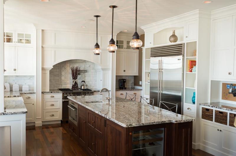 SubZero White Kitchen