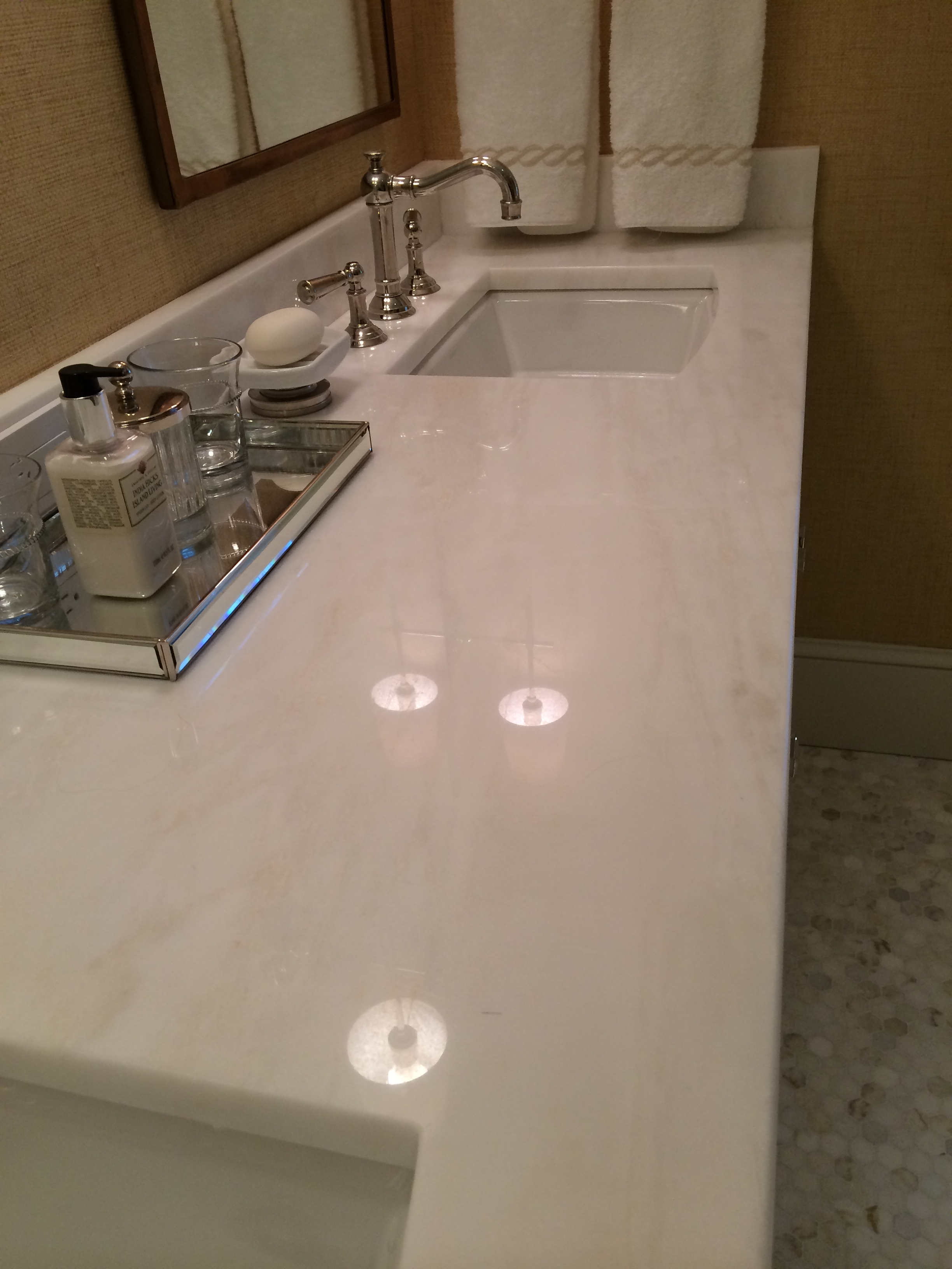 spinnaker master bath countertop