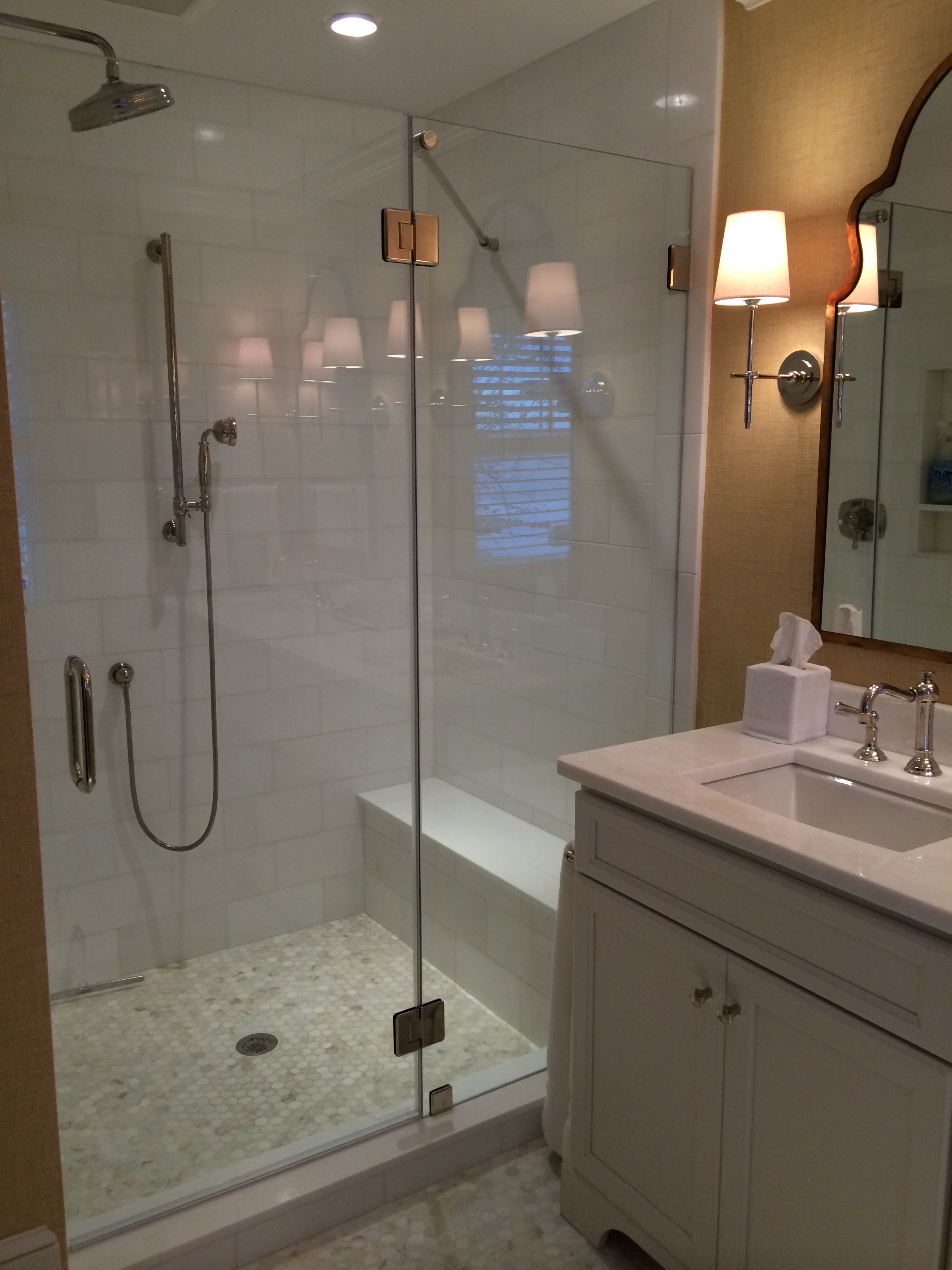 spinnaker master bath shower