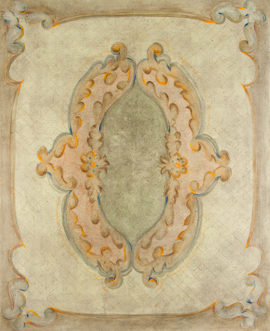 Custom Designed and hand painted floor cloth rugs