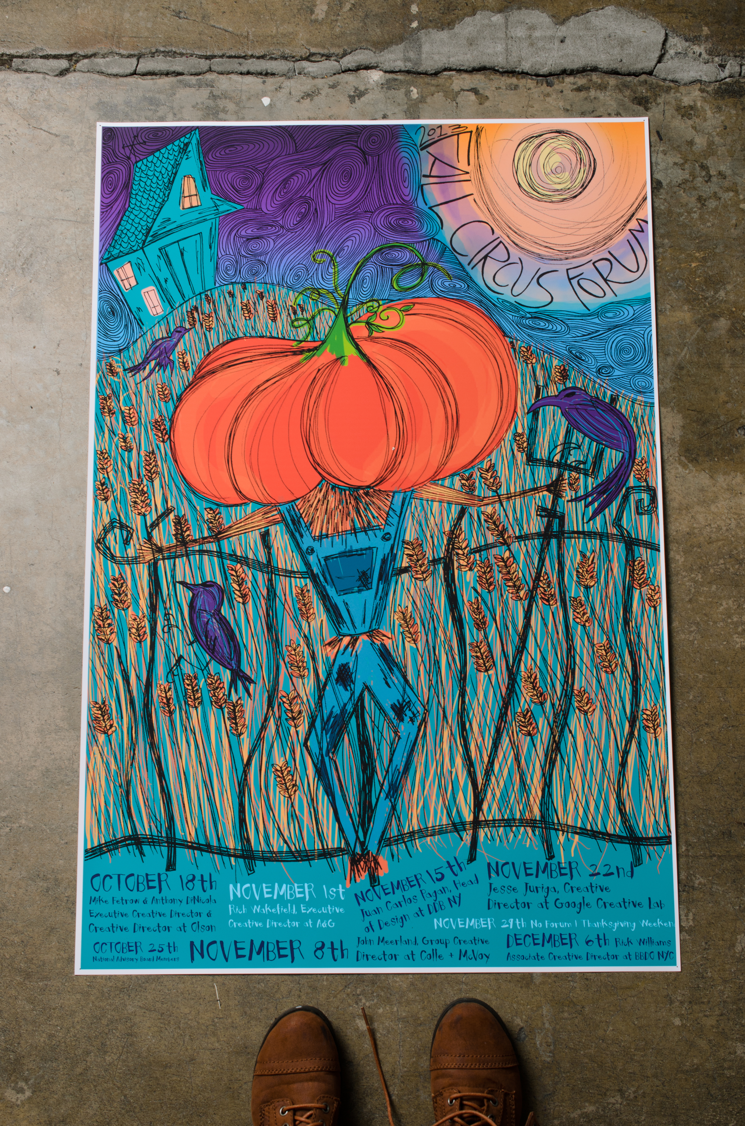 Creative Circus Fall Forum Poster